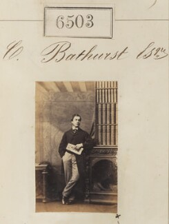 Mr C. Bathurst, by Camille Silvy - NPG Ax56436