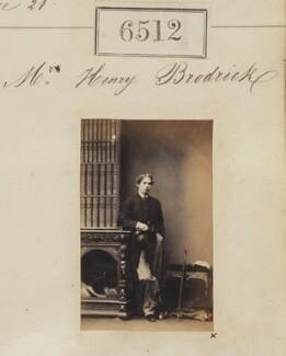 Henry Brodrick, by Camille Silvy - NPG Ax56445