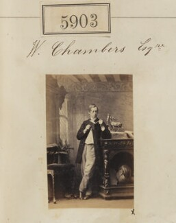 Mr W. Chambers, by Camille Silvy - NPG Ax55858
