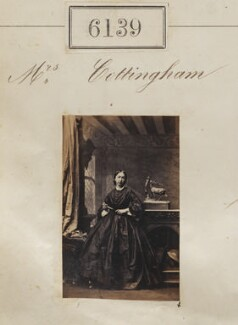 Mrs Cottingham, by Camille Silvy - NPG Ax56085