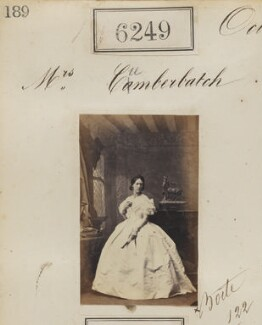 Mrs Cumberbatch, by Camille Silvy - NPG Ax56195