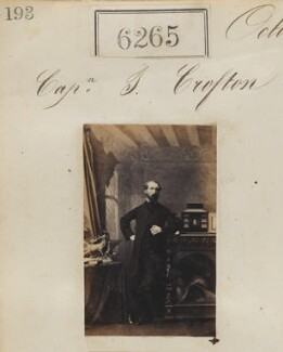 Captain J. Crofton, by Camille Silvy - NPG Ax56210