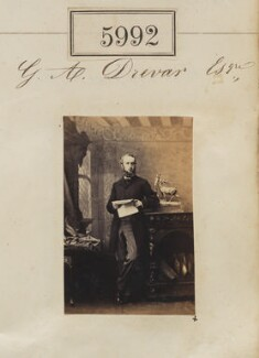 Mr G.A. Drewar, by Camille Silvy - NPG Ax55947