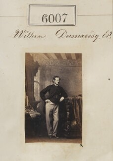 William Dumaresq, by Camille Silvy - NPG Ax55961