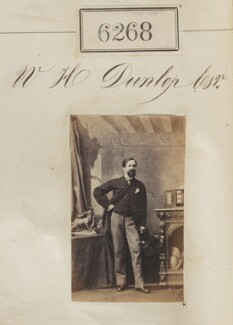 Mr W.H. Dunlop, by Camille Silvy - NPG Ax56213