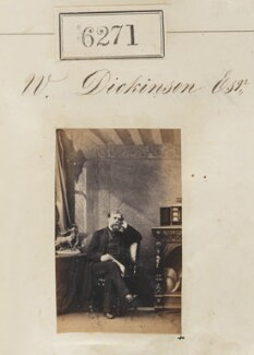 Mr W. Dickinson, by Camille Silvy - NPG Ax56216