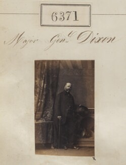 Major-General Dixon, by Camille Silvy - NPG Ax56312