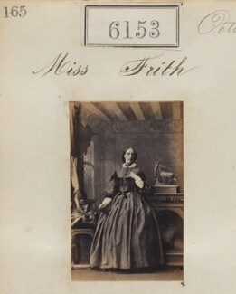 Miss Frith, by Camille Silvy - NPG Ax56099