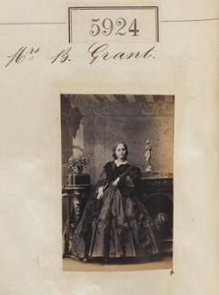 Mrs B. Grant, by Camille Silvy - NPG Ax55879