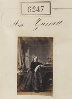 Miss Garratt, by Camille Silvy - NPG Ax56193
