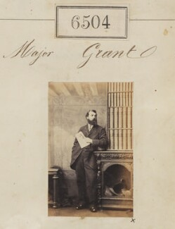 Major Grant, by Camille Silvy - NPG Ax56437