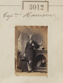 Captain Harrison, by Camille Silvy - NPG Ax55867