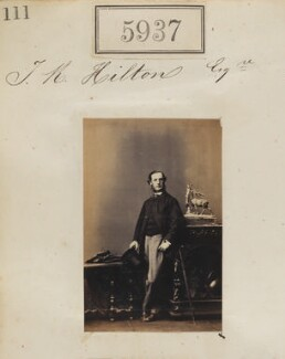 Mr J.R. Hilton, by Camille Silvy - NPG Ax55892
