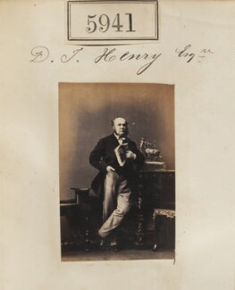 Mr J.D. Henry, by Camille Silvy - NPG Ax55896