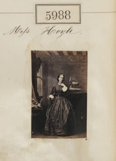 Miss Hoyle, by Camille Silvy - NPG Ax55943