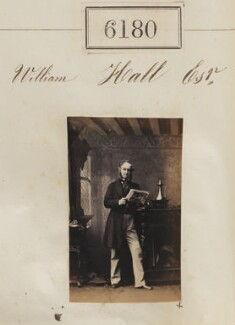 William Hall, by Camille Silvy - NPG Ax56126
