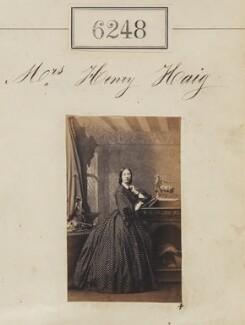 Mrs Henry Haig, by Camille Silvy - NPG Ax56194