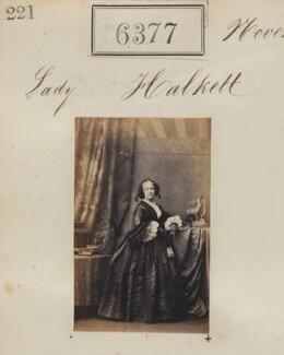 Lady Halkett, by Camille Silvy - NPG Ax56318