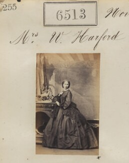 Mrs W. Harford, by Camille Silvy - NPG Ax56446