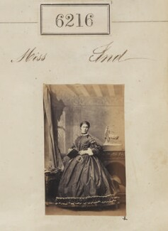 Miss Ind, by Camille Silvy - NPG Ax56162