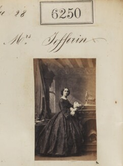 Mrs Jefferies, by Camille Silvy - NPG Ax56196