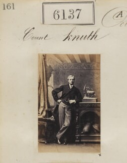 Count Knuth, by Camille Silvy - NPG Ax56083