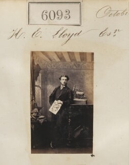 Mr H.C. Lloyd, by Camille Silvy - NPG Ax56040