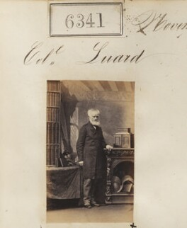 Colonel Luard, by Camille Silvy - NPG Ax56286