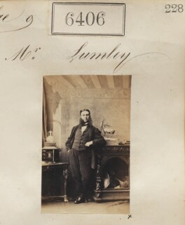 Mr Lumley, by Camille Silvy - NPG Ax56342