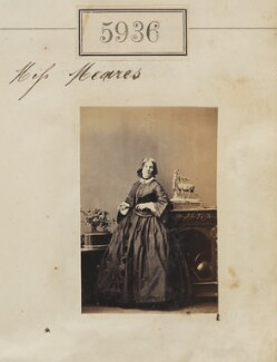 Miss Meares, by Camille Silvy - NPG Ax55891