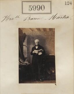 Hon. Baron Martin, by Camille Silvy - NPG Ax55945