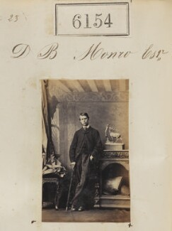 Mr D.B. Monro, by Camille Silvy - NPG Ax56100