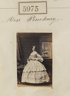Miss Pinckney, by Camille Silvy - NPG Ax55930
