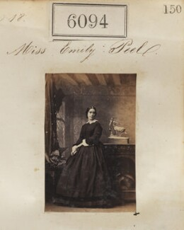 Miss Emily Peel, by Camille Silvy - NPG Ax56041