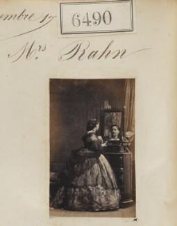 Mrs Rahn, by Camille Silvy - NPG Ax53323