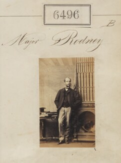 Major Rodney, by Camille Silvy - NPG Ax56429
