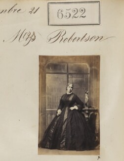 Mrs Robertson, by Camille Silvy - NPG Ax56455