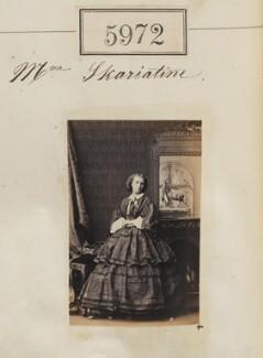 Madame Skariatine, by Camille Silvy - NPG Ax55927