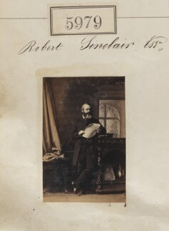 Robert Sinclair, by Camille Silvy - NPG Ax55934
