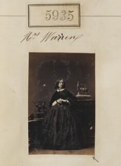 Mrs Warren, by Camille Silvy - NPG Ax55890