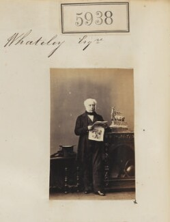 Mr J.W. Whately, by Camille Silvy - NPG Ax55893