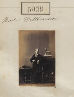 Master Wilkinson, by Camille Silvy - NPG Ax55894