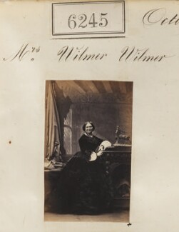 Mrs Wilmer Wilmer, by Camille Silvy - NPG Ax56191