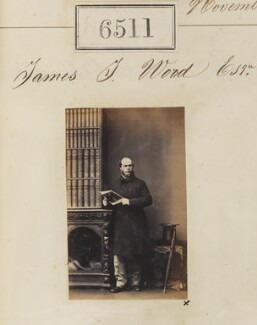 James J. Wood, by Camille Silvy - NPG Ax56444