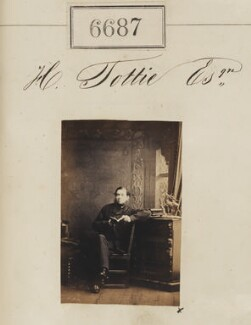 H. Tottie, by Camille Silvy - NPG Ax56617