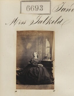 Miss Salkeld, by Camille Silvy - NPG Ax56623