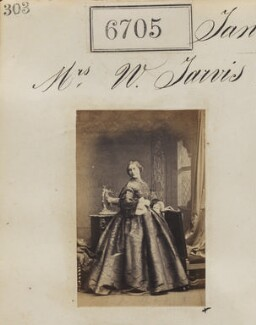 Mrs W. Jarvis, by Camille Silvy - NPG Ax56632
