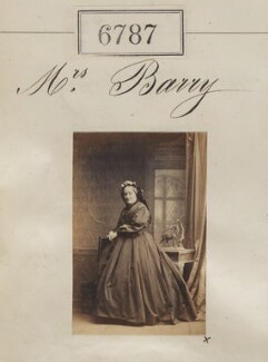 Mrs Barry, by Camille Silvy - NPG Ax56712