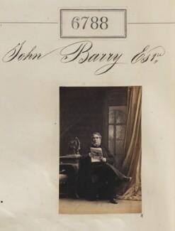 John Barry, by Camille Silvy - NPG Ax56713