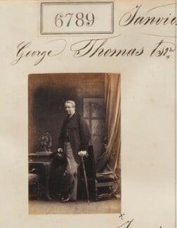 George Thomas, by Camille Silvy - NPG Ax56714